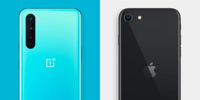 oneplus_nord_vs_iphone_se