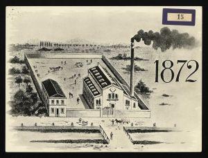 prima fabbrica Pirelli 1872
