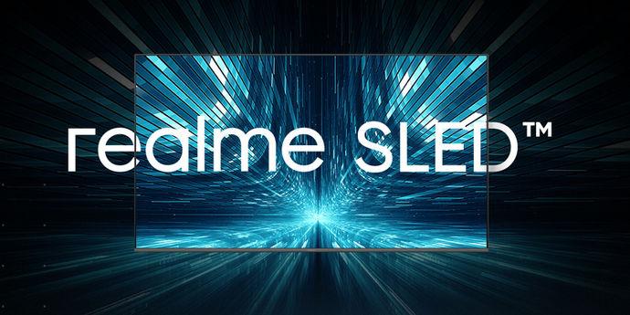 Realme smart tv 4K SLED