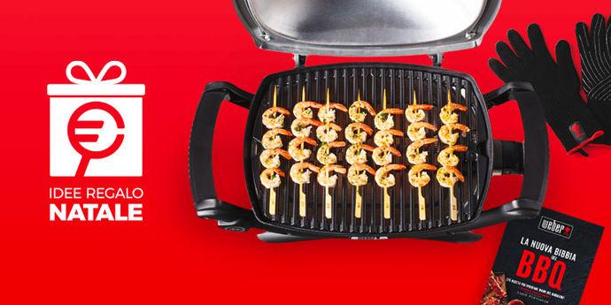 Idee regalo Weber per amanti barbecue