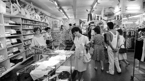 Shopping negli anni 80
