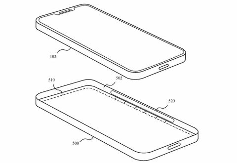 iPhone brevetto custodia