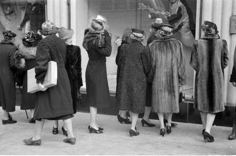 Shopping negli anni Sessanta