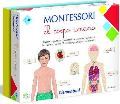 Clementoni Montessori - Il Corpo Umano