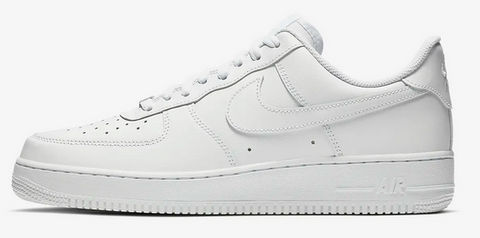 Nike Air Force 1 uomo bianche