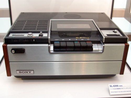 Sony Betamax SL-6300