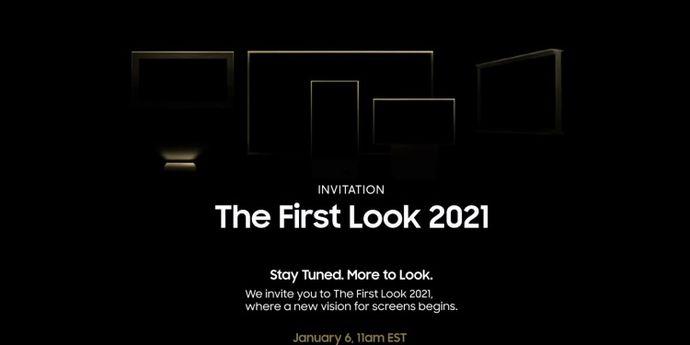 The first Look samsung evento 6 gennaio