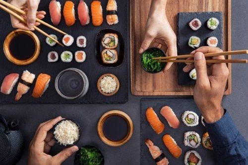 kit per fare il sushi