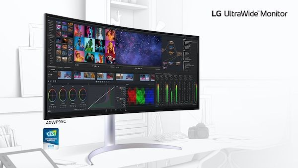 Linea LG Monitor UltraWide