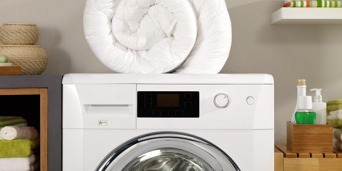 come lavare il piumino in lavatrice