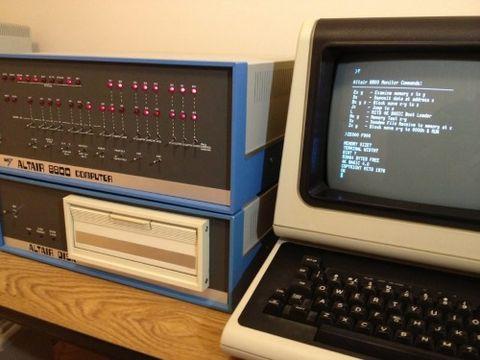 Altair 8800 Microsoft