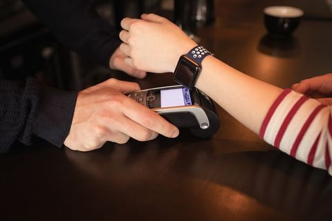 Pagamenti NFC con smartwatch