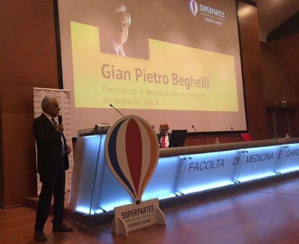 Beghelli Gian Pietro la storia