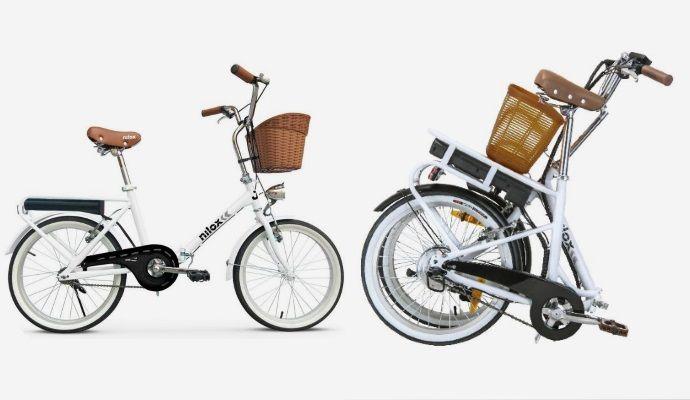 Bicicletta elettrica pieghevole Nilox