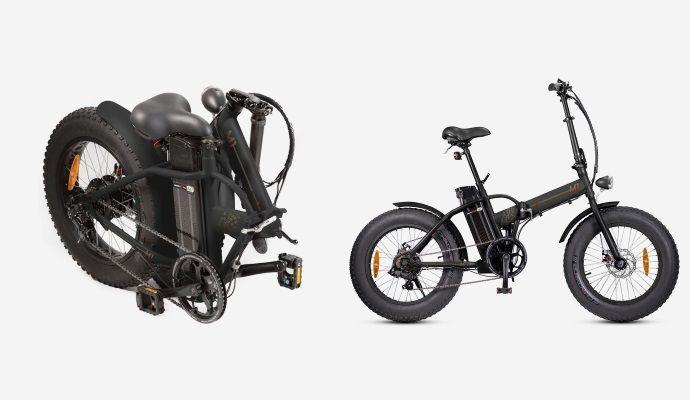 Bicicletta elettrica pieghevole Smartway M1 2020