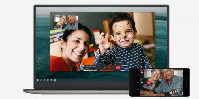 Whatsapp desktop videochiamate
