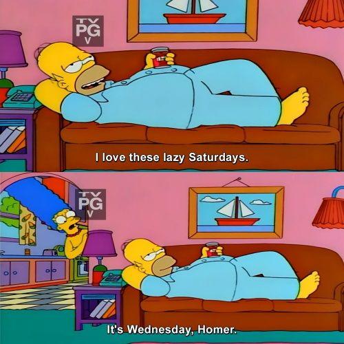 lazy homer