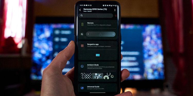 applicazione Samsung Q950T