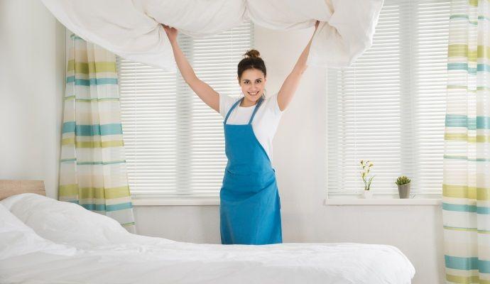 pulizia camera da letto