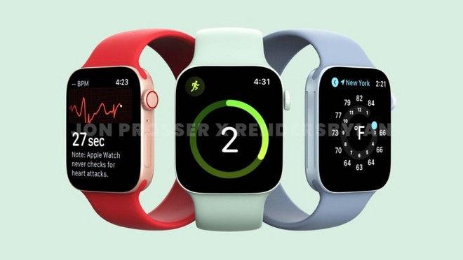 Apple Watch 7 render