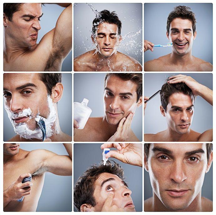 beauty routine uomo