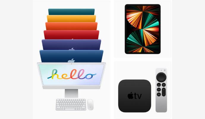 iMac-iPad Pro-Apple TV 4K