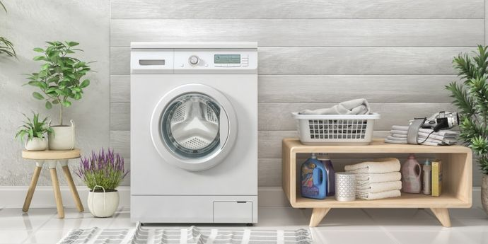 lavatrice con motore inverter