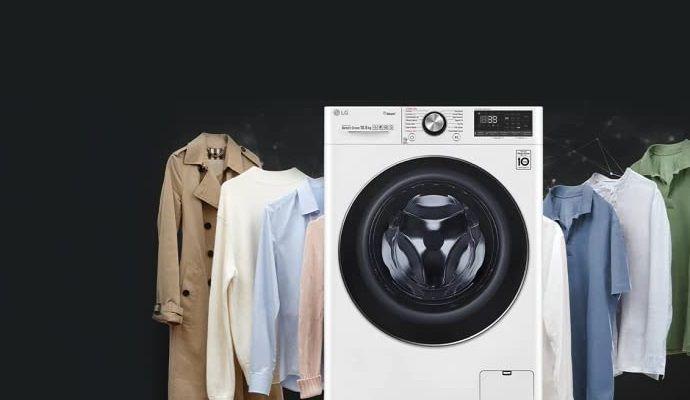 lavatrice da 12 kg LG F4WV512S0E