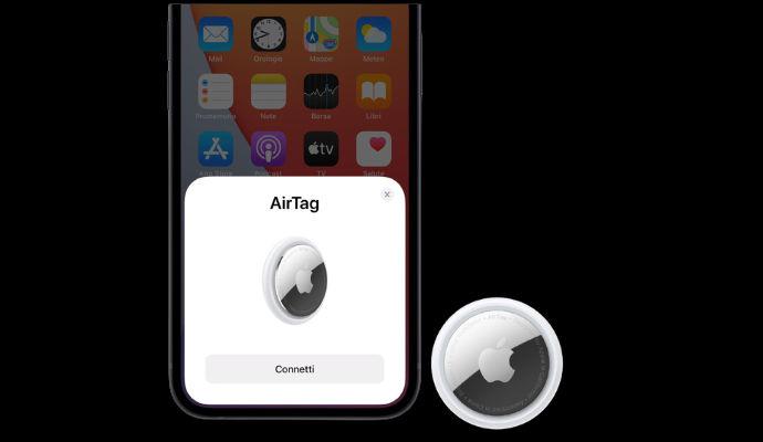 AirTag connessione