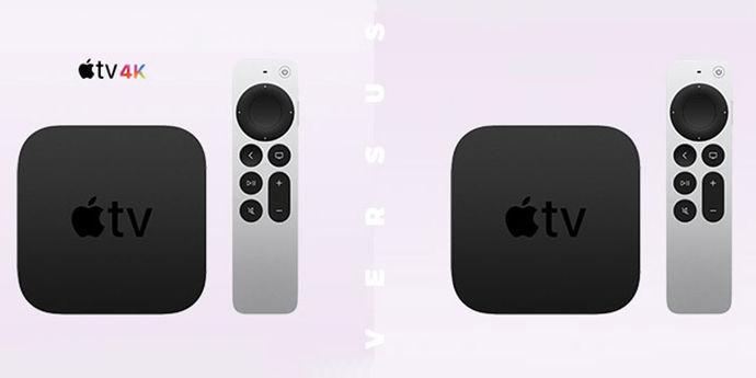 Apple TV 4k versus TV HD 2021