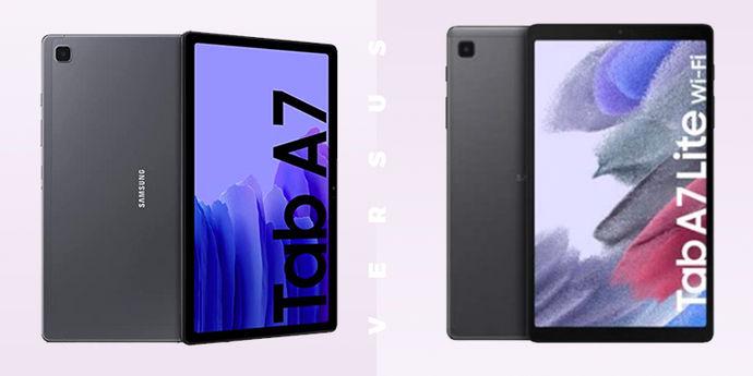 Galaxy Tab A7 vs Tab A7 Lite