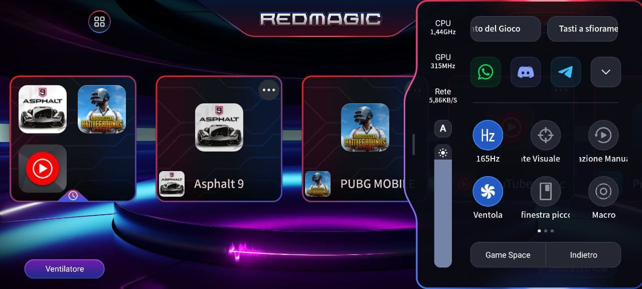 RedMagic Game Space