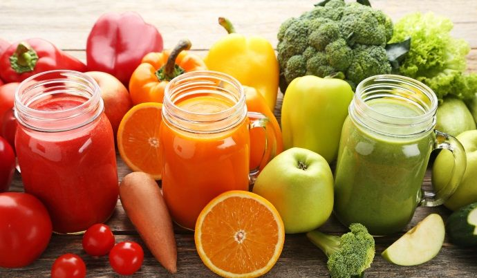 come fare le centrifughe di frutta e di verdura