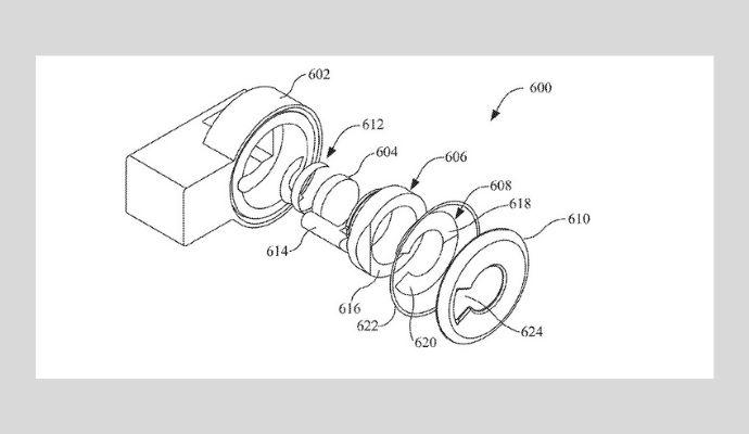 Apple brevetto termometro