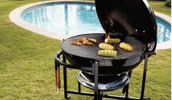 Barbecue a gas portatile da campeggio