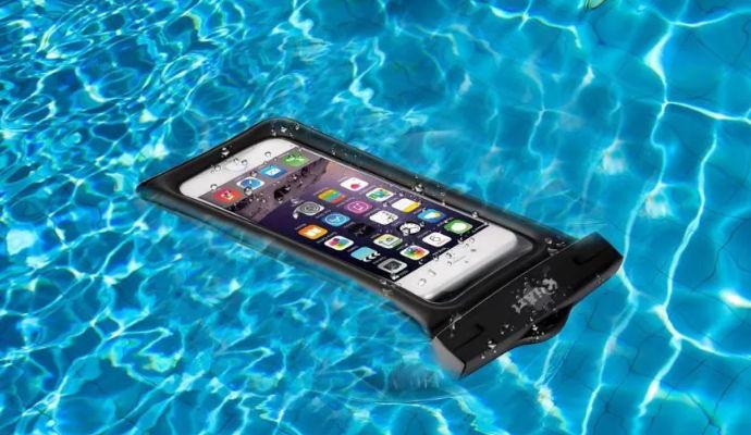 Cover impermeabile smartphone