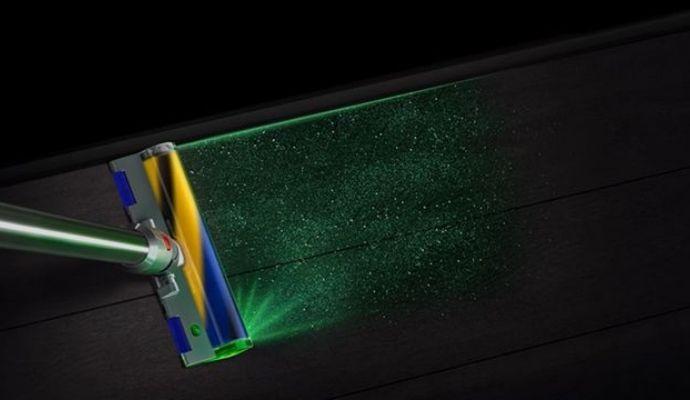 Dyson V15 Laser verde
