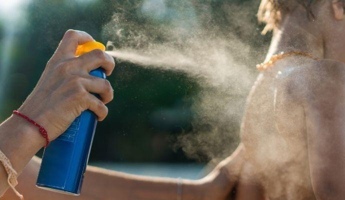 Spray solare bambini