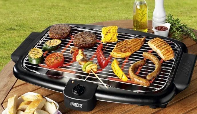 barbecue elettrico portatile