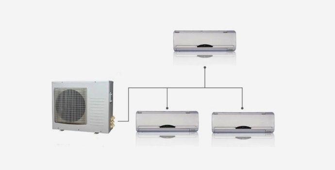 condizionatori multisplit struttura