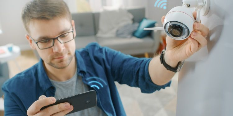 videosorveglianza tramite smartphone