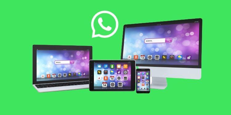whatsapp si connette a 4 dispositivi