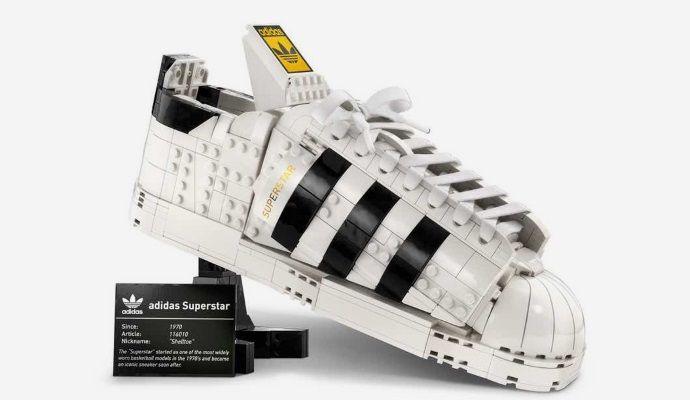 Adidas Superstar Lego