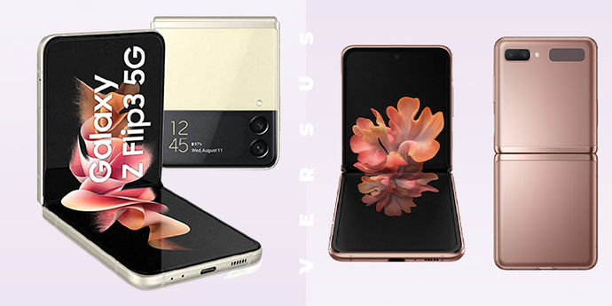 Galaxy Z Flip3 vs Galazy Z Flip 5G