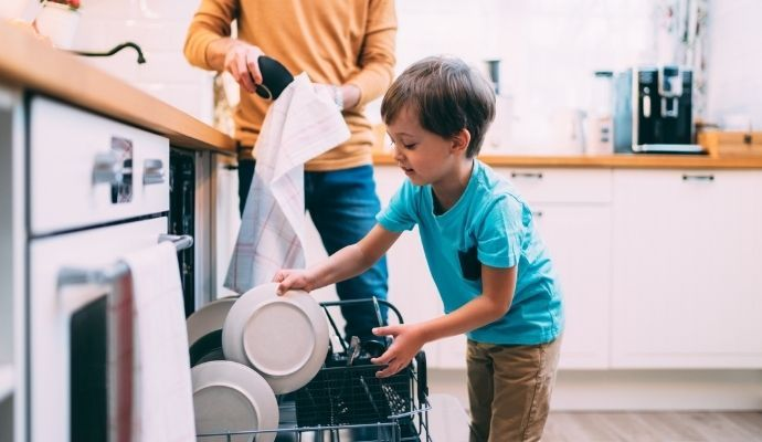 Lavastoviglie per famiglie