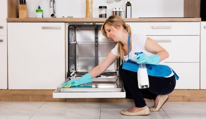 pulizia lavastoviglie