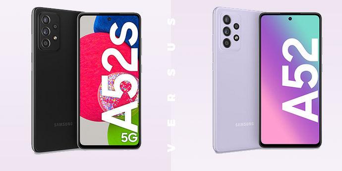 Galaxy A52s vs Galaxy A52