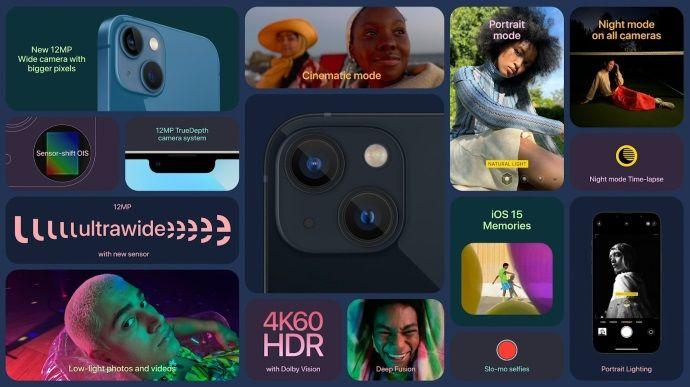 iPhone 13 le caratteristiche
