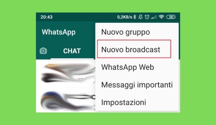 lista broadcast whatsapp