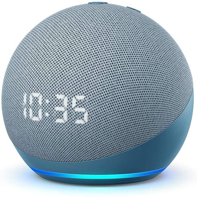 Amazon Echo Dot con Orologio (Quarta Generazione)